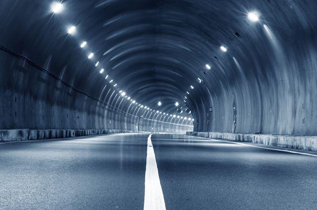 brann i tunnel